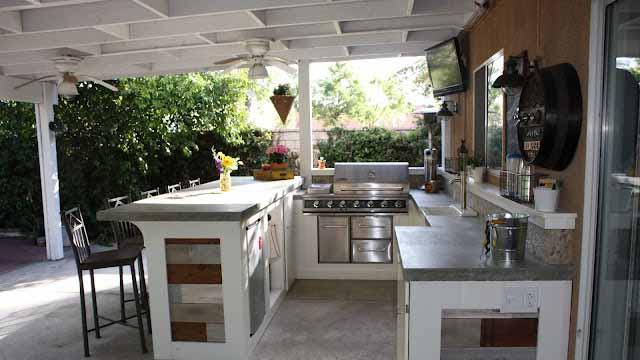летняя кухня современные проекты
