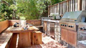 летняя кухня планировка