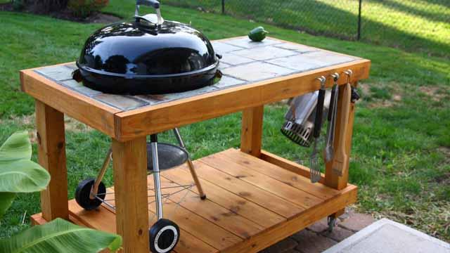 Sommerküche Aus Holz : So bauen sie mit ihren eigenen händen eine sommerküche im landhaus