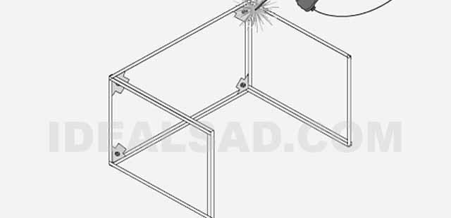 как сделать вытяжной зонт для мангала