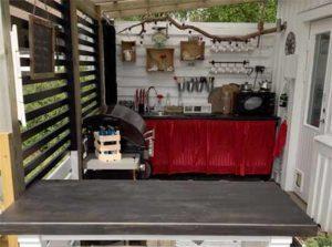 летняя кухня фото