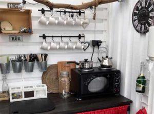 простая летняя кухня фото