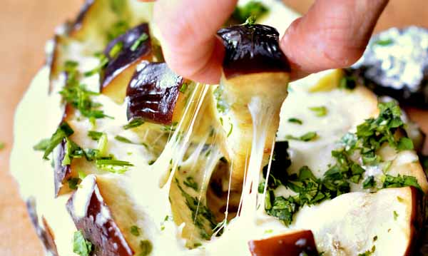 баклажаны в духовке с сыром