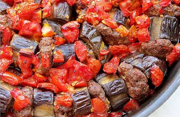 баклажаны с мясом турецкая кухня