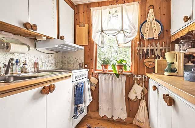 дачный дом кухня