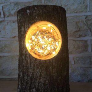 необычный уличный светильник